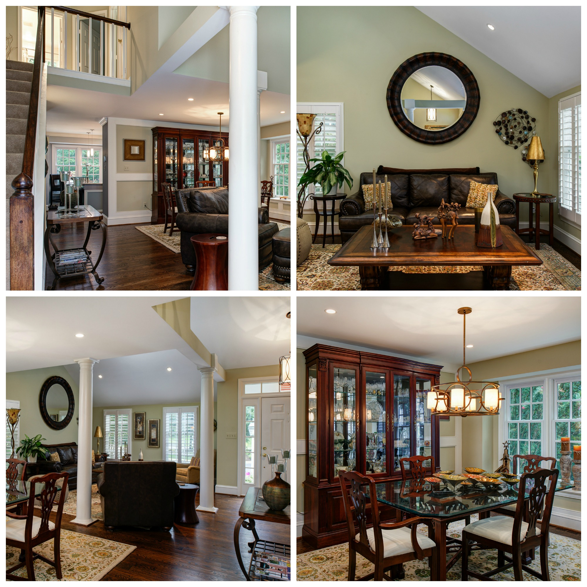 1248 Lamplighter Way, Reston- Living and Dining Room