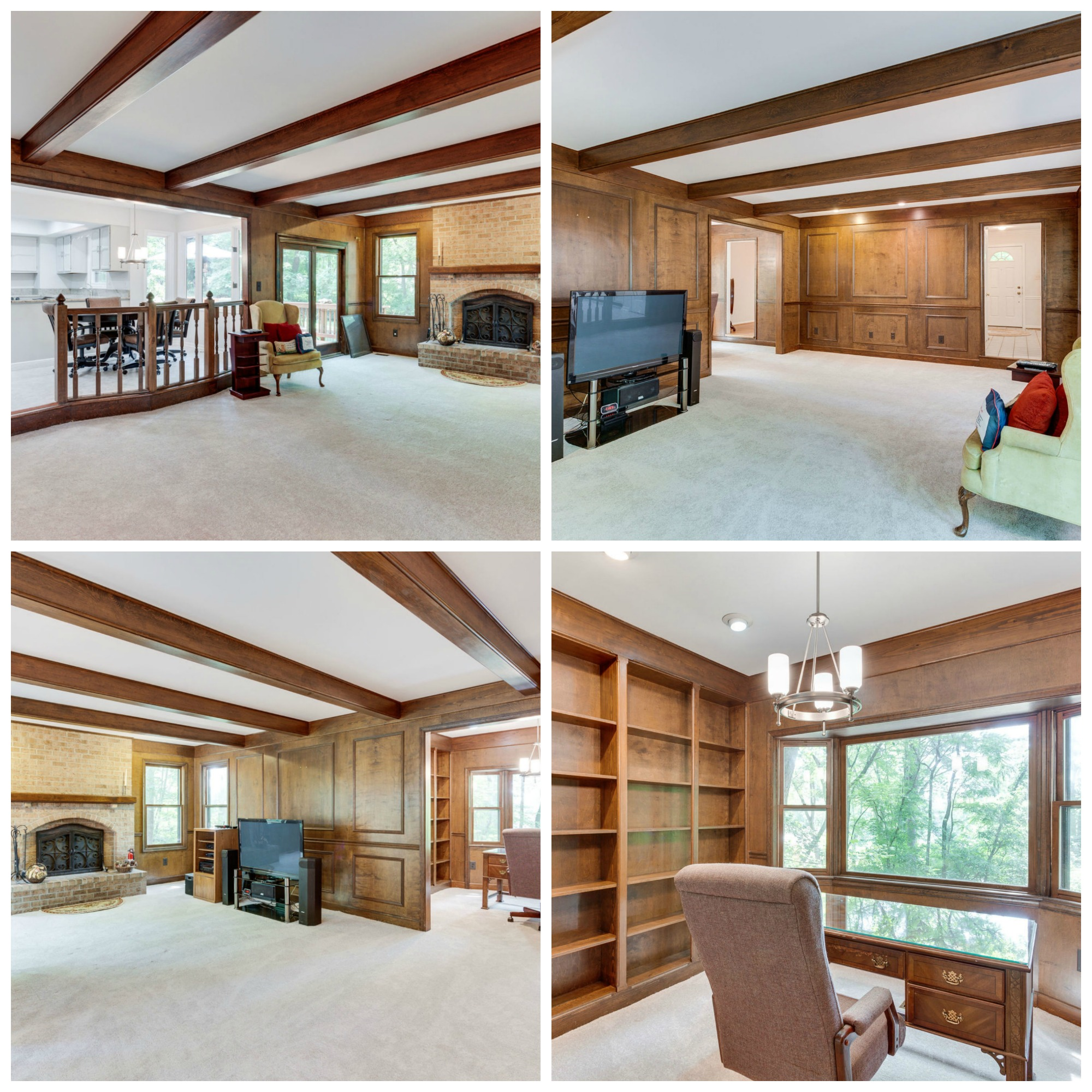 10104 Lawyers Rd Vienna - Family Room and Office
