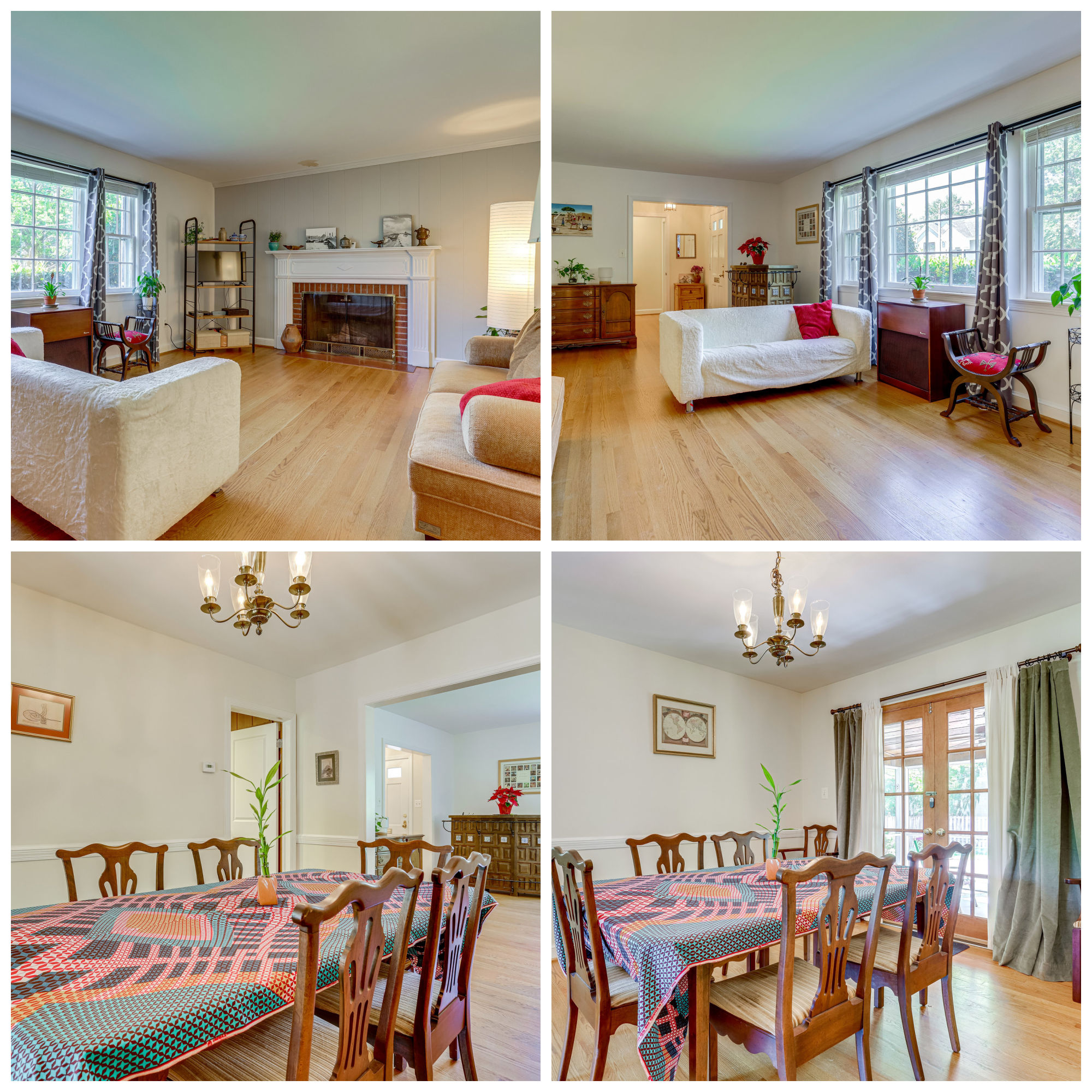 2901 Linden Ln, Falls Church- Living and Dining Room