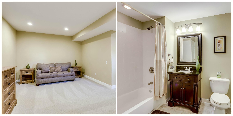 904 Locust St, Herndon- Basement Den and Bathroom