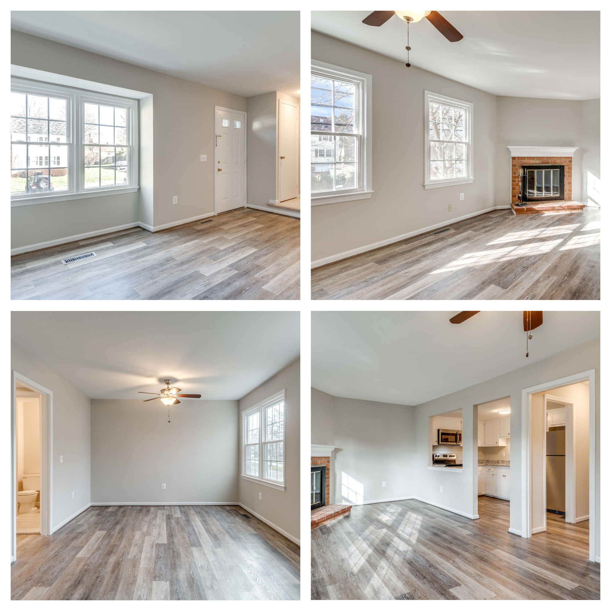 403 Maple Ct, Herndon- Living, Family, and Dining Room