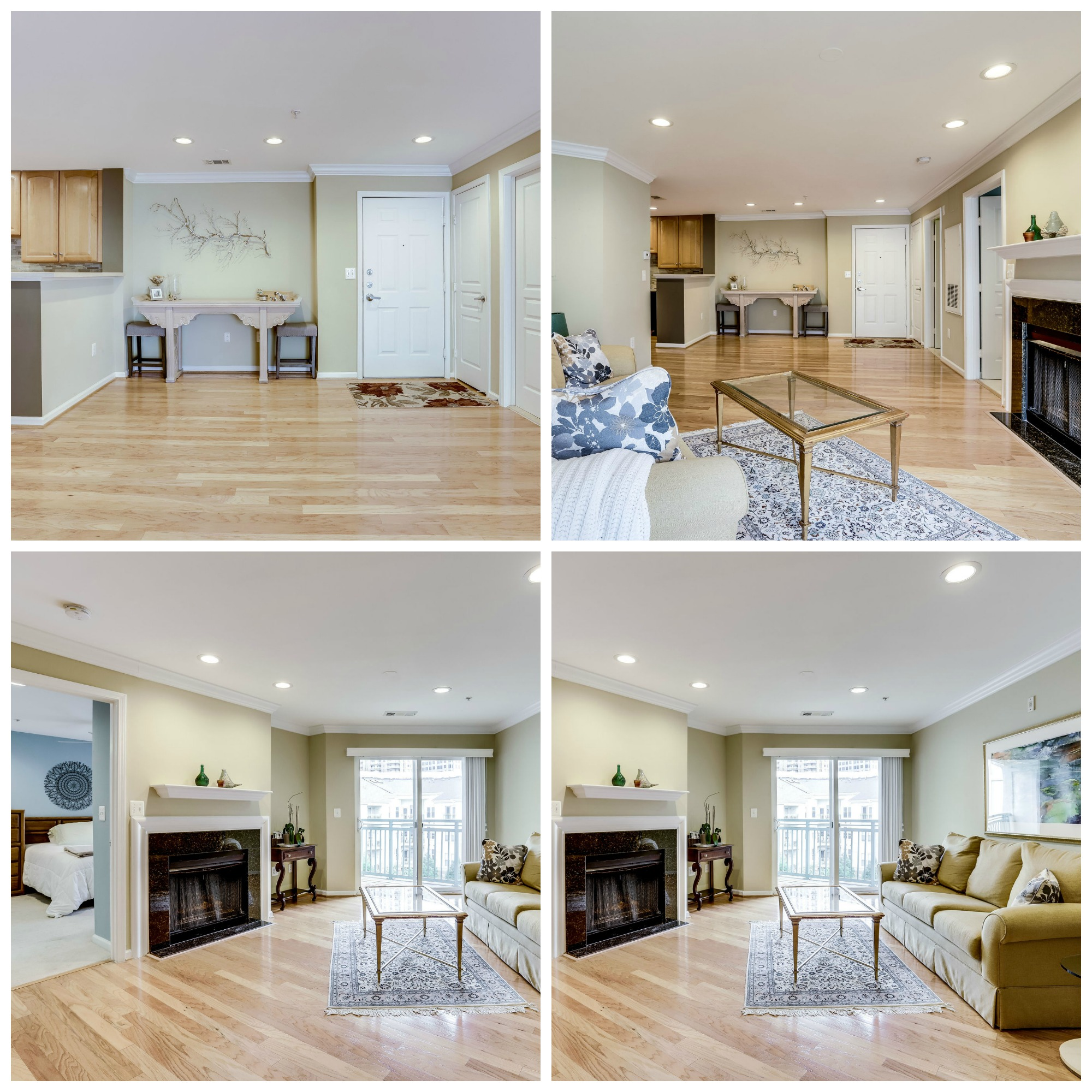 12001 Market St #448- Reston Town Center- Dining and Living Room