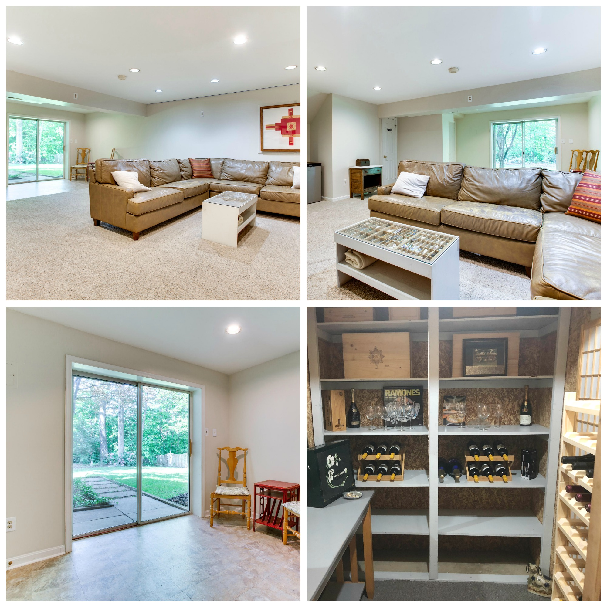 12015 Meadowville_Rec Room and Wine Cellar