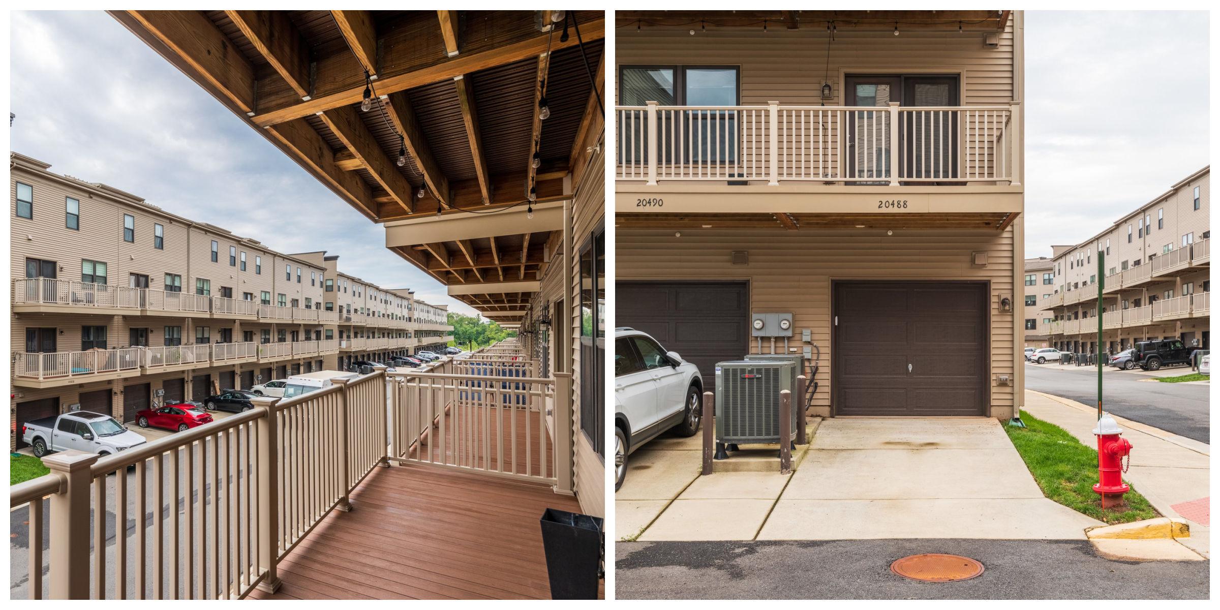 20488 Milbridge Ter, Ashburn- Balcony and Garage