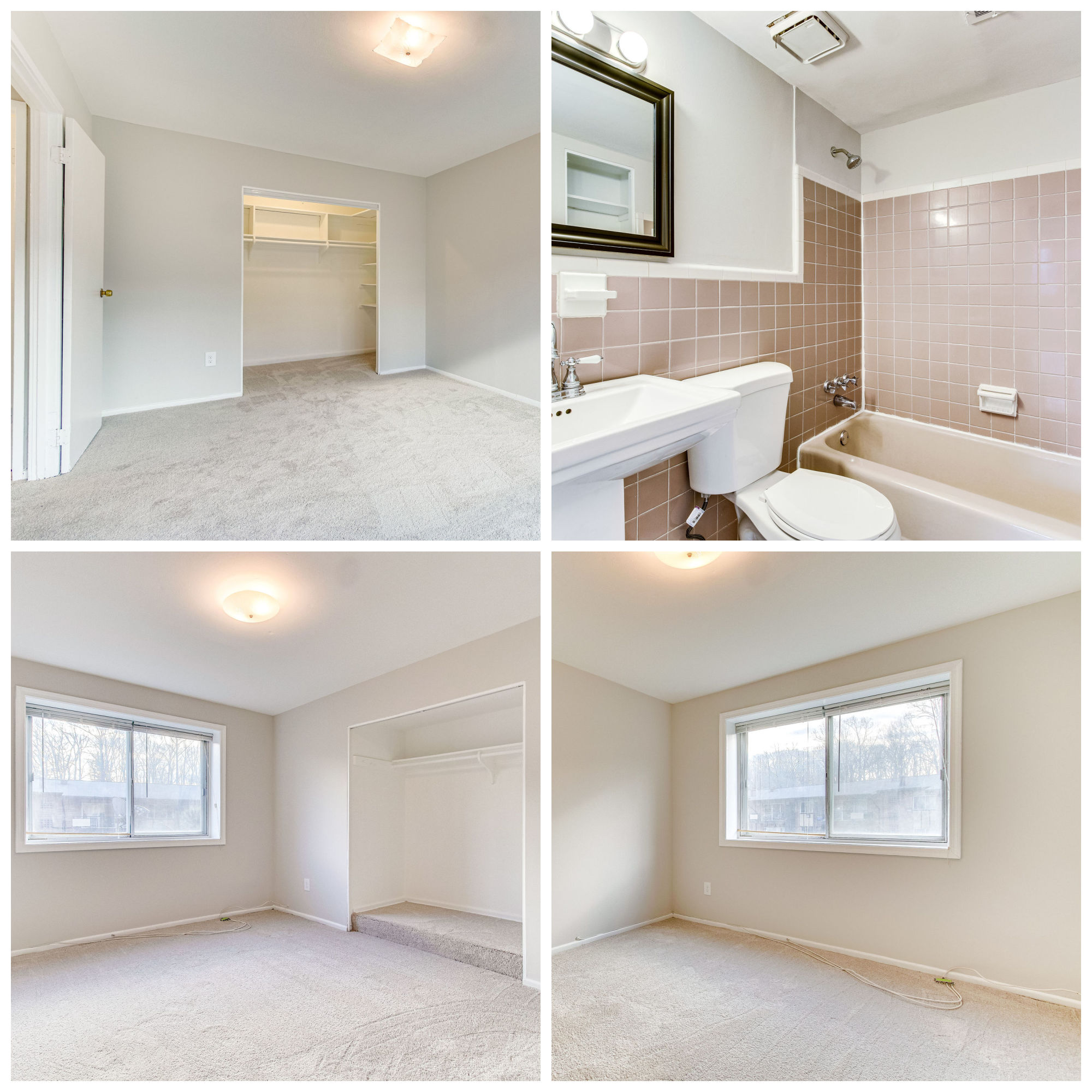 10028 Mosby Woods Dr #166, Fairfax- Bedrooms and Bathroom