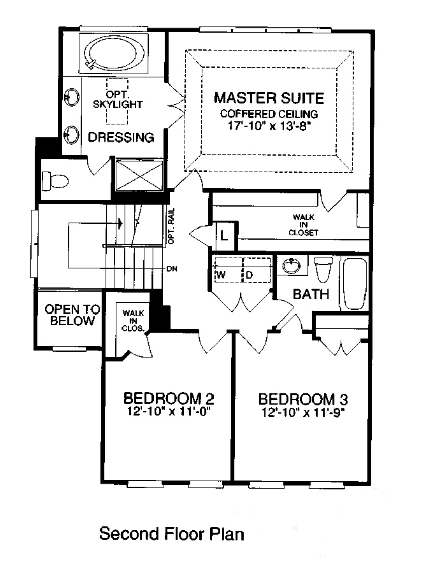 45814 Mountain Pine Sq, Sterling_ Second Level Floorplan