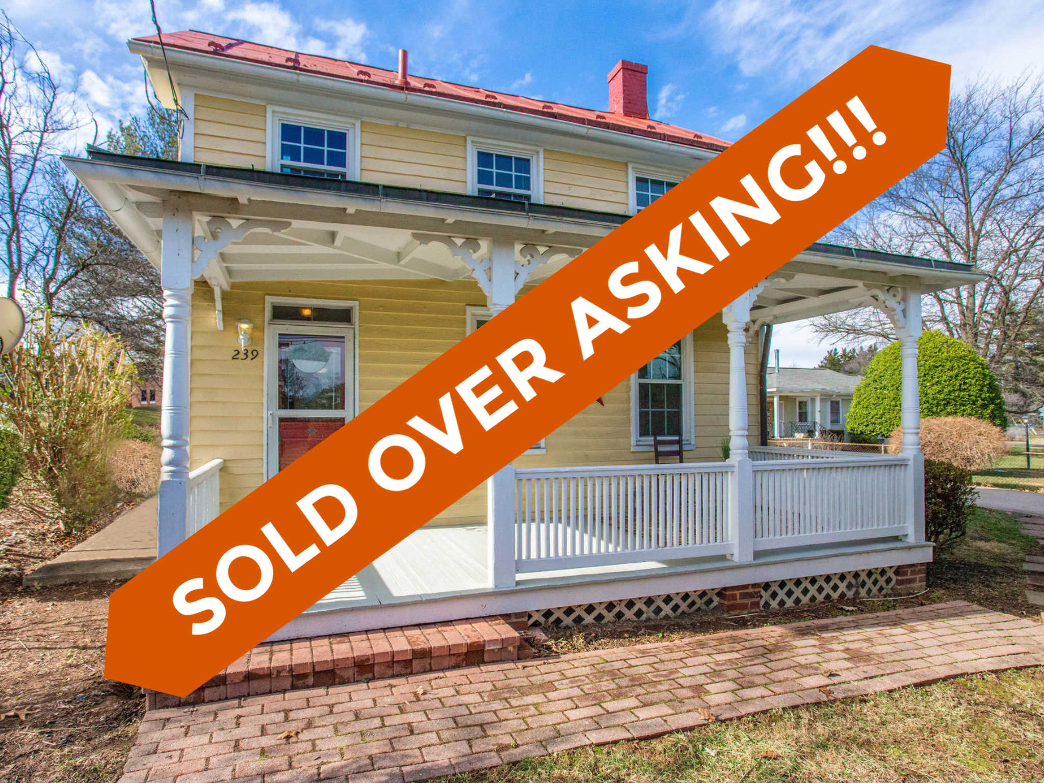 239 Old Waterford Rd NW, Leesburg,- Sold