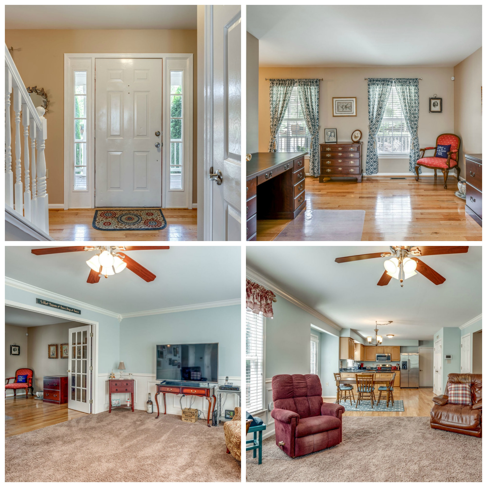 327 Old Waterford Rd NW, Leesburg - Living and Family Room