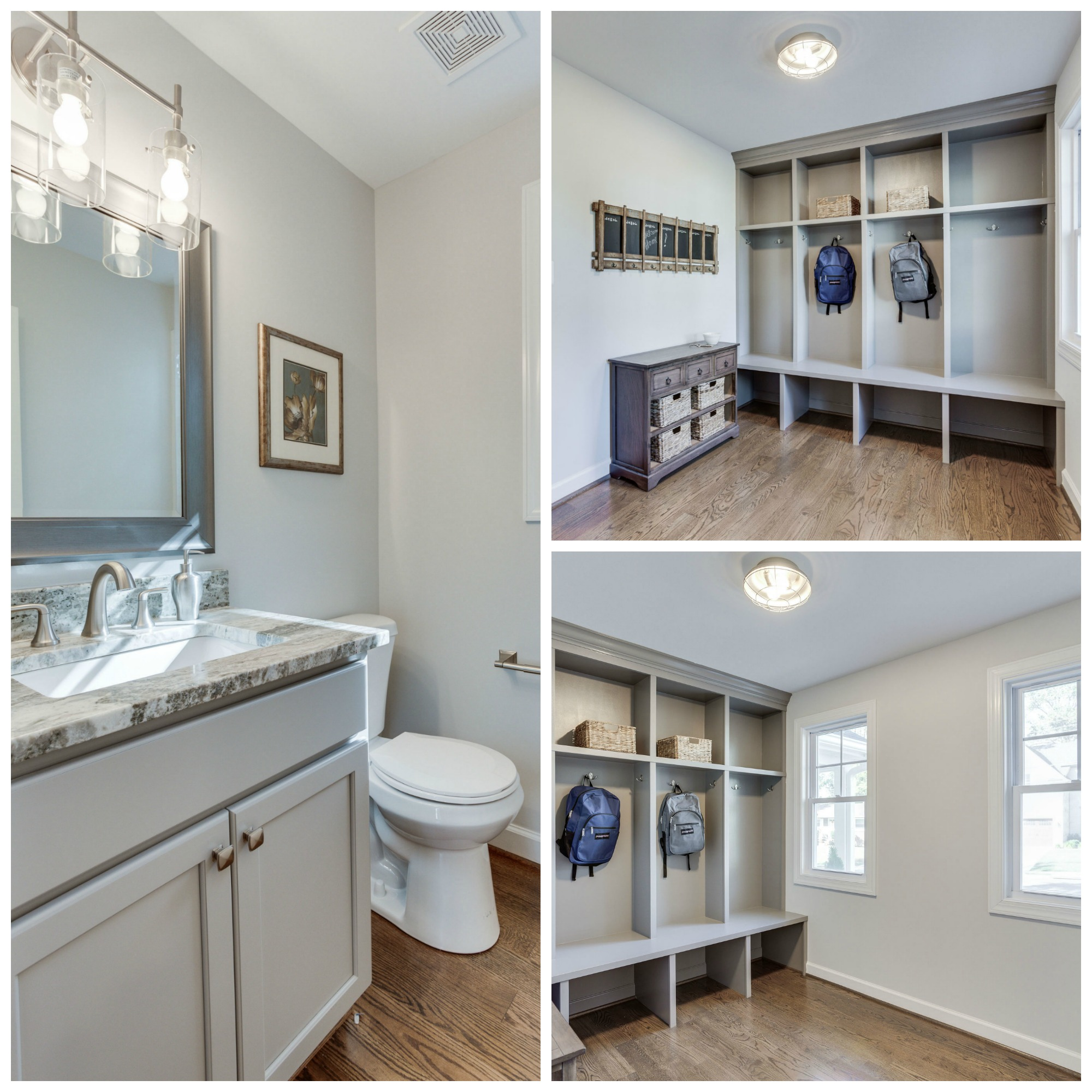 914 Olympian Cir SW Vienna - Mudroom and Powder Room