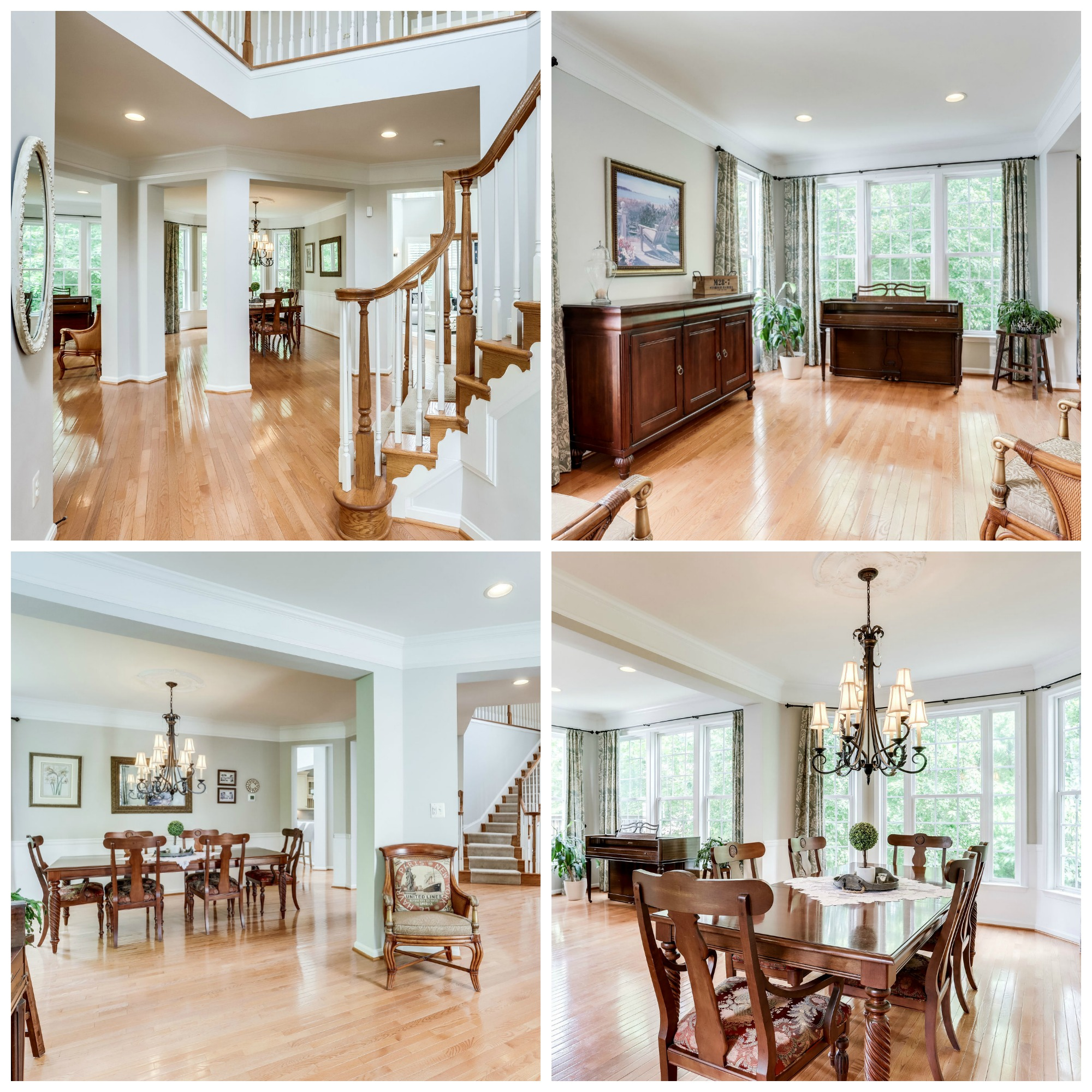 42914 Park Brooke Ct, Broadlands- Living and Dining Room