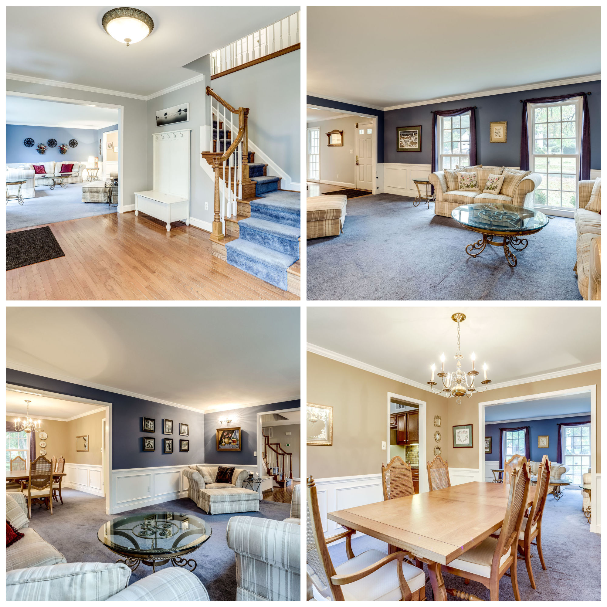 114 Peyton Rd, Sterling - Living and Dining Rooms