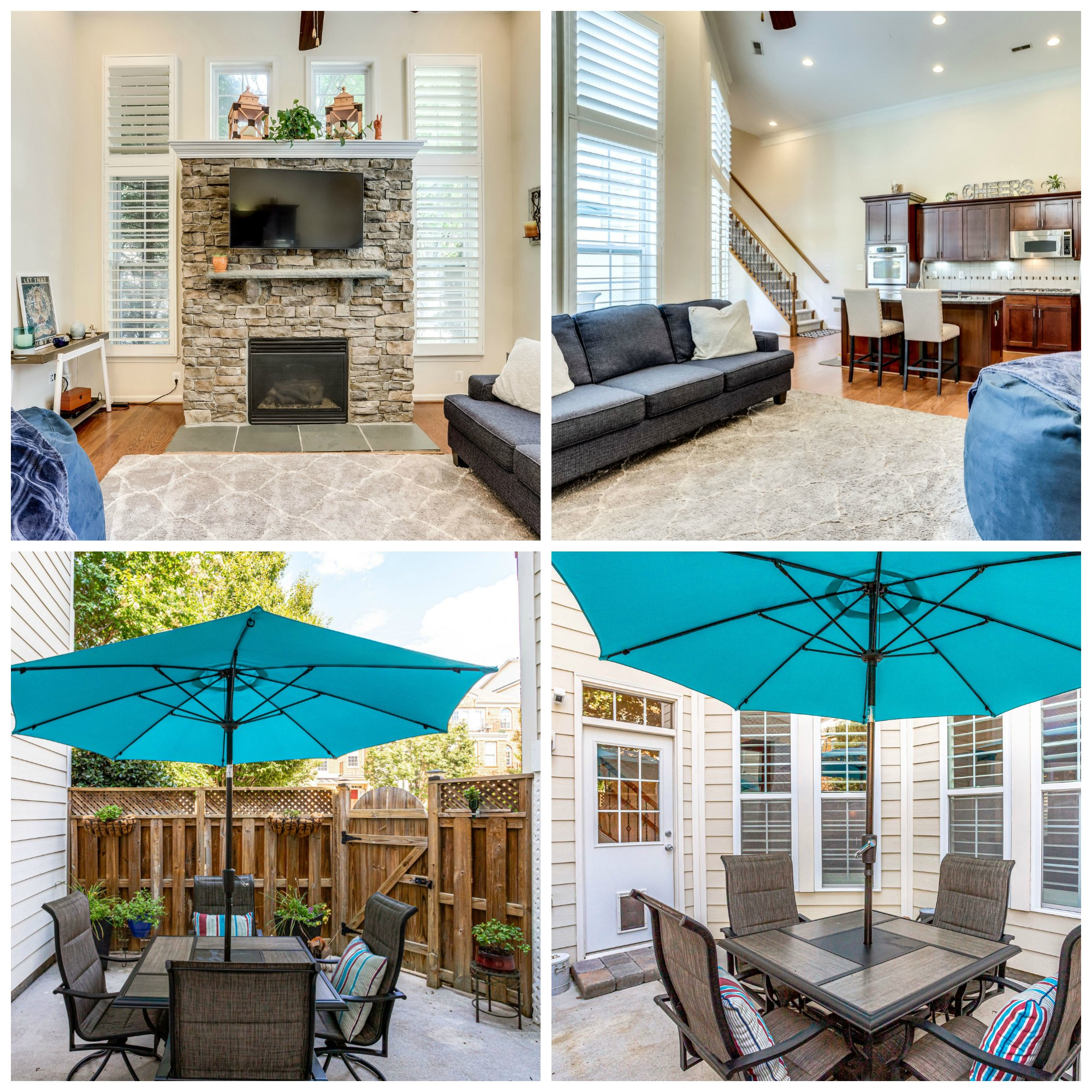43595 Popes Creek Sq -Lansdowne Town Center- Family Room and Courtyard