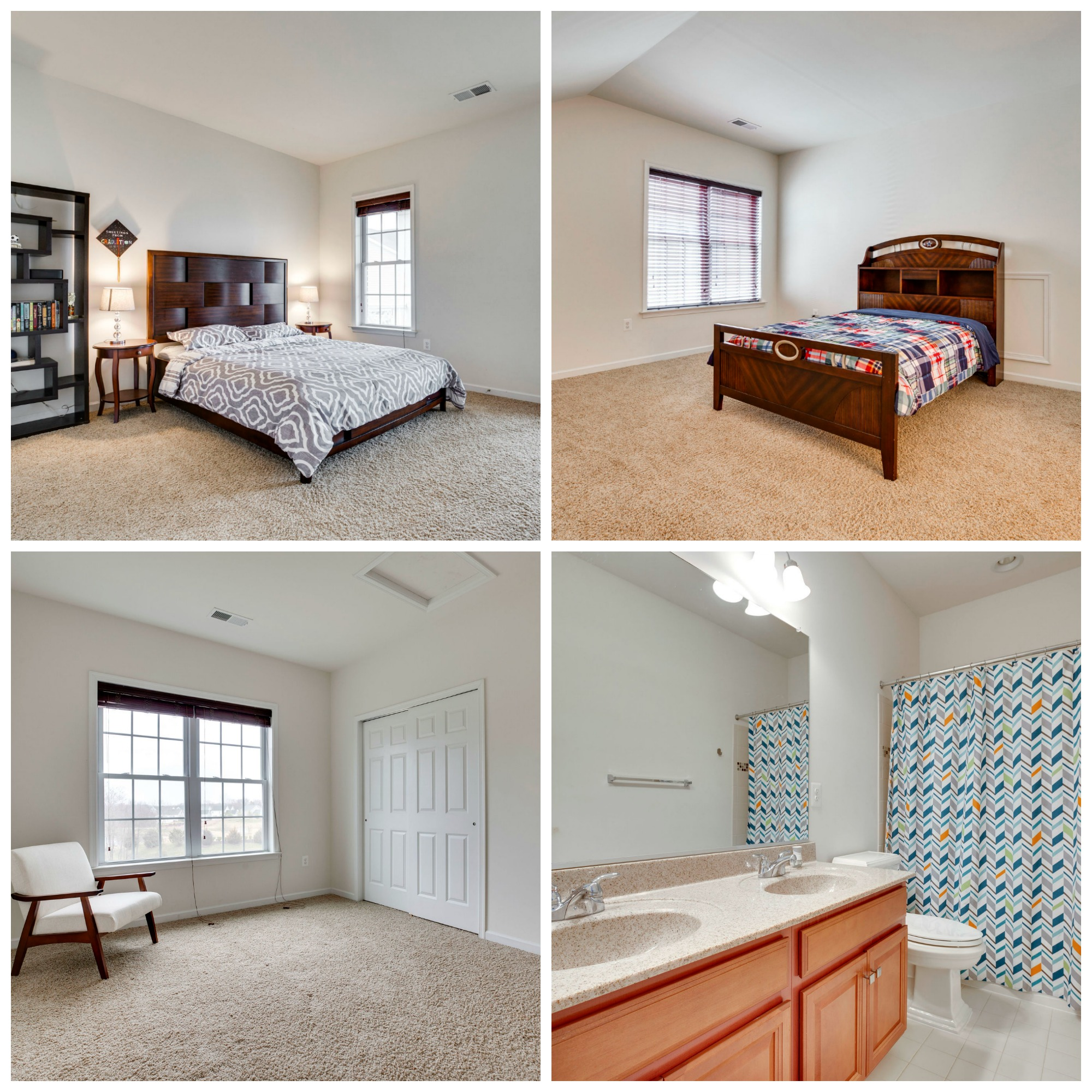 24267 Purple Finch Dr Aldie - Upper Level Bedrooms and Bathrooms