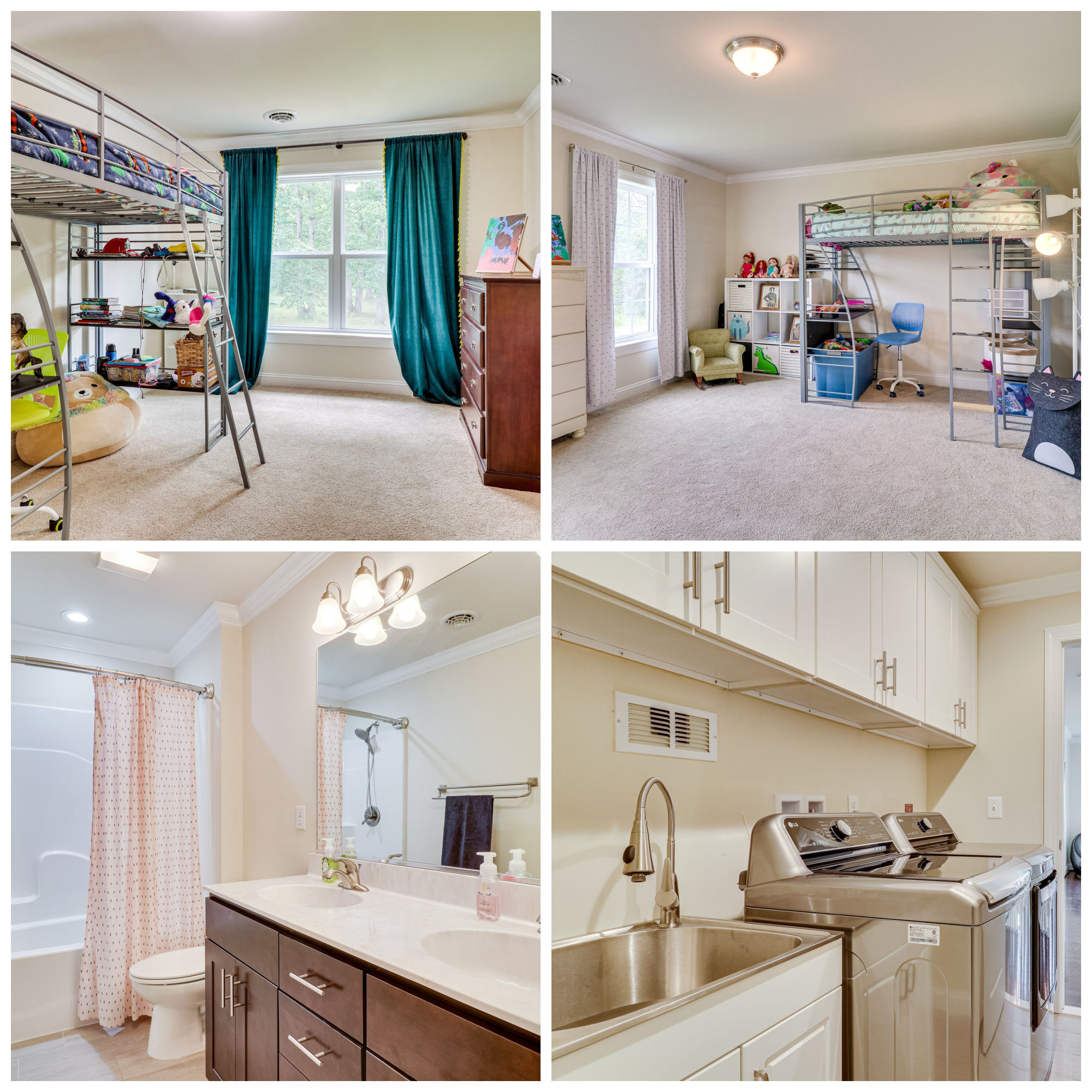 20166 Redrose Dr, Sterling- Additional Bedrooms, Bathroom, and Laundry