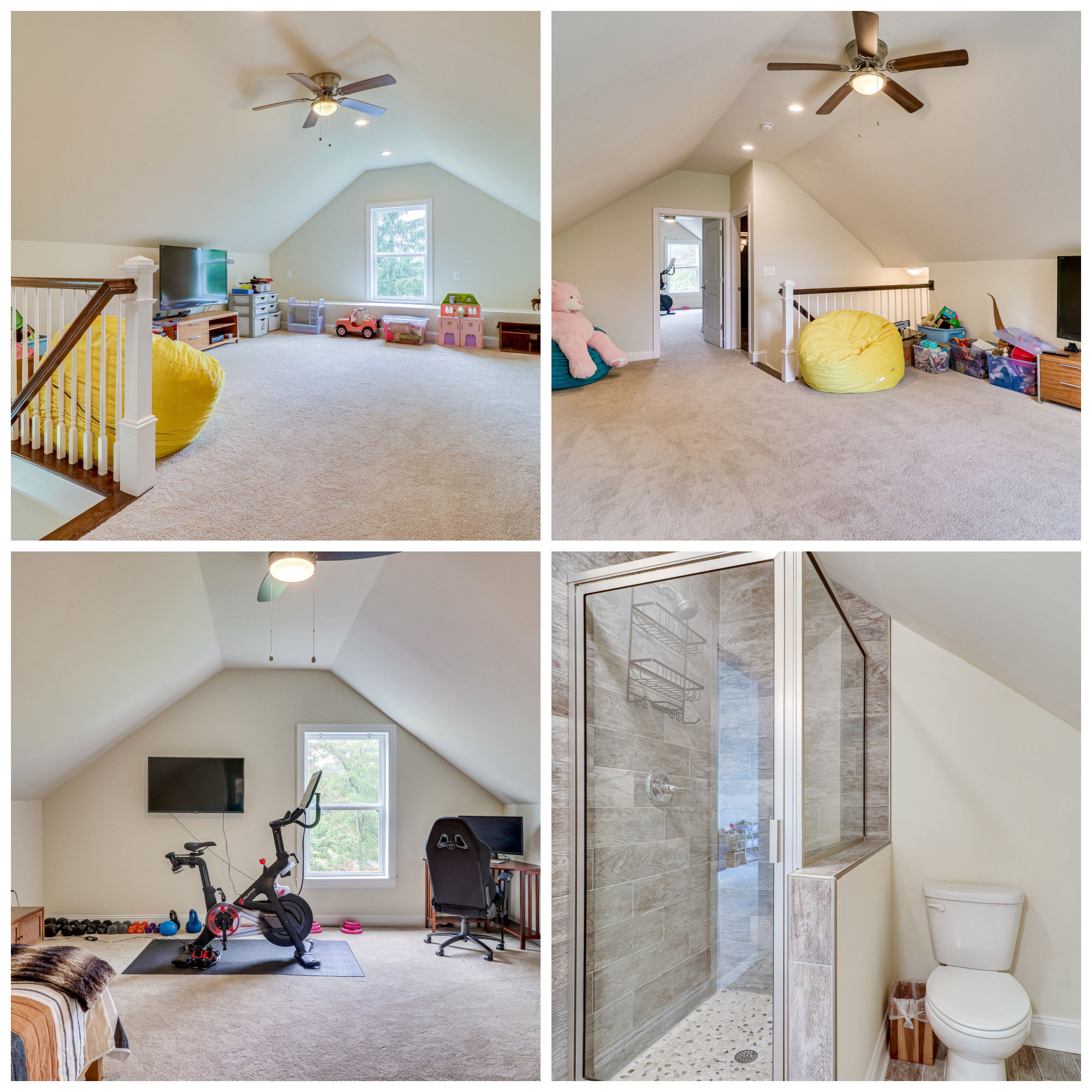 20166 Redrose Dr, Sterling- Third Level Bed, Bath, and Rec Room