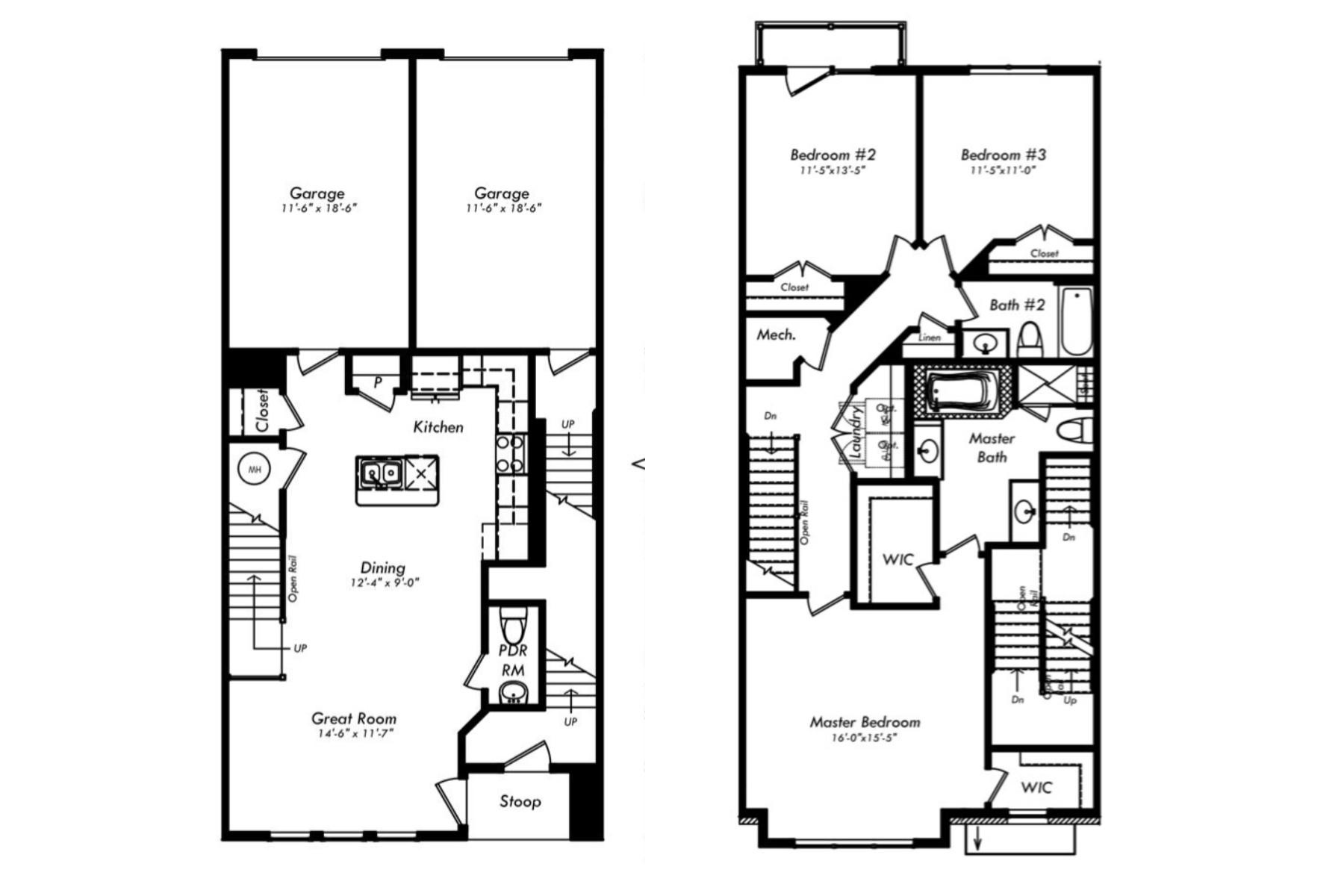 1216 Ribbon Limestone Ter SE Leesburg Floor Plan