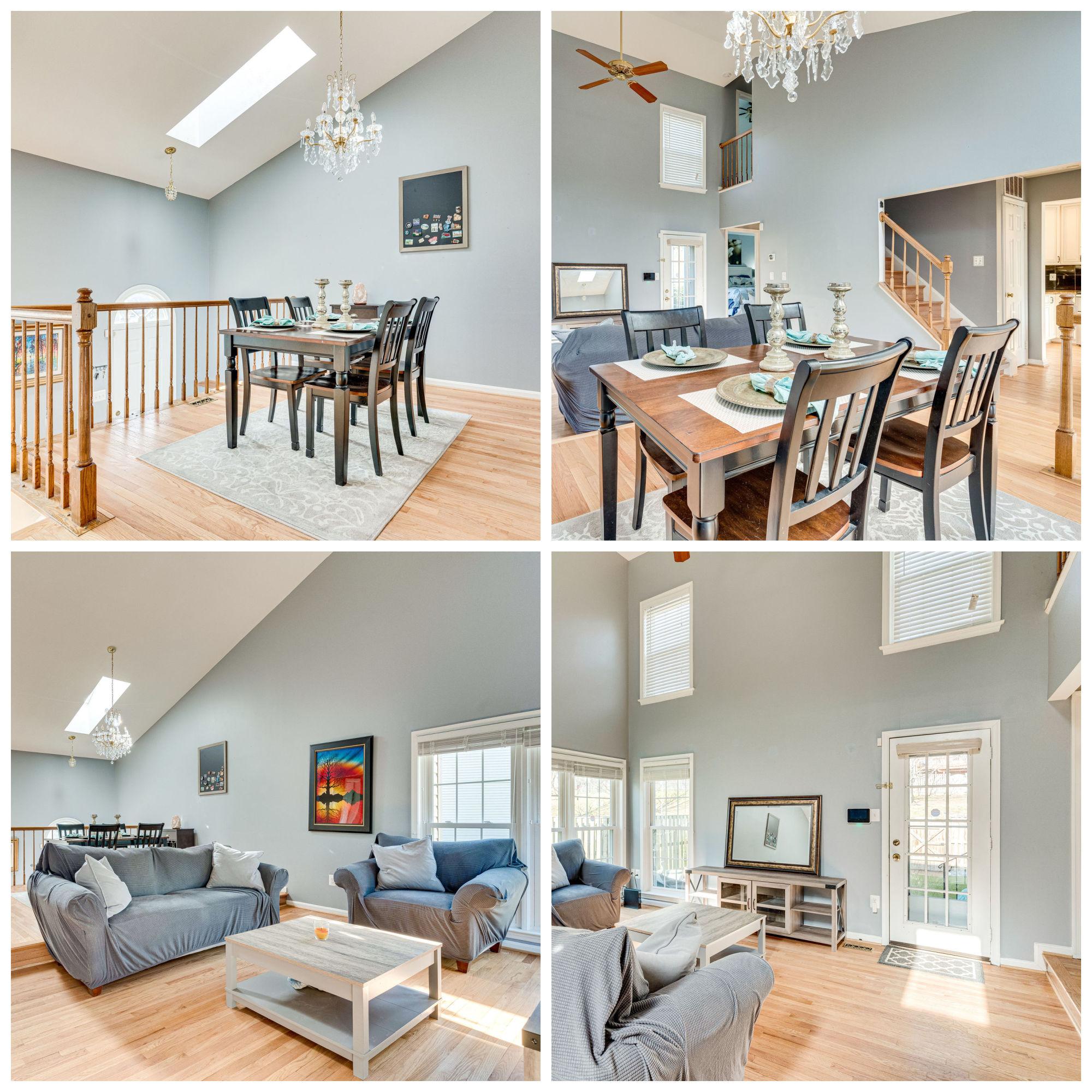 7430 Ridge Oak Ct, Springfield- Living and Dining Room