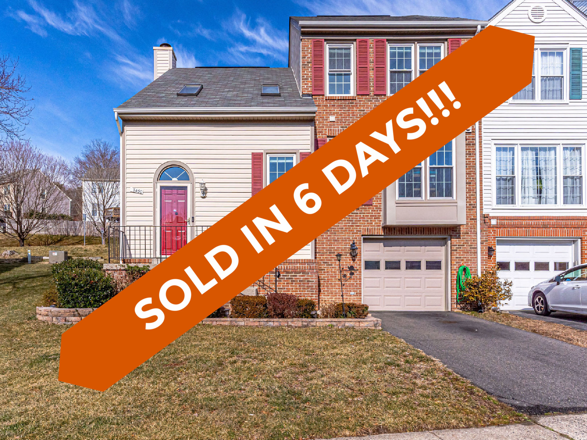 7430 Ridge Oak Ct, Springfield -Sold