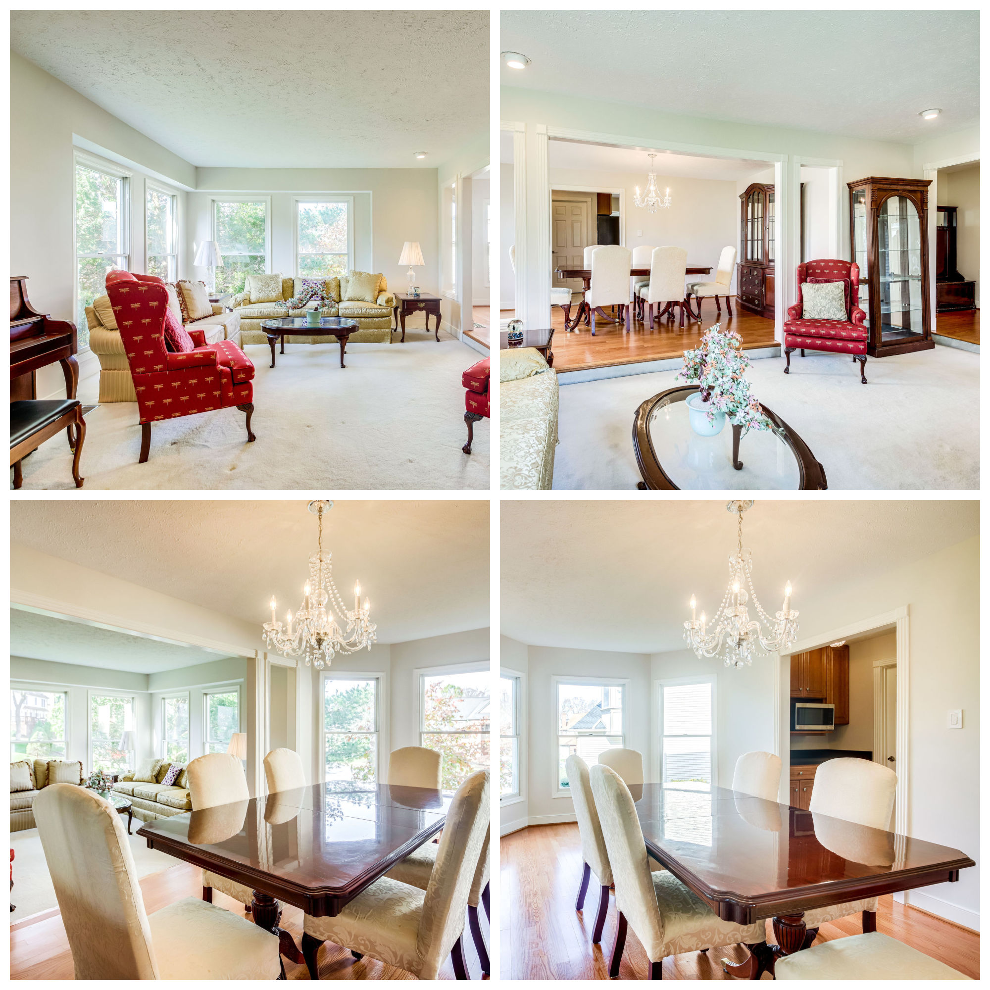 58 Rutherford Cir, Sterling- Living and Dining Room