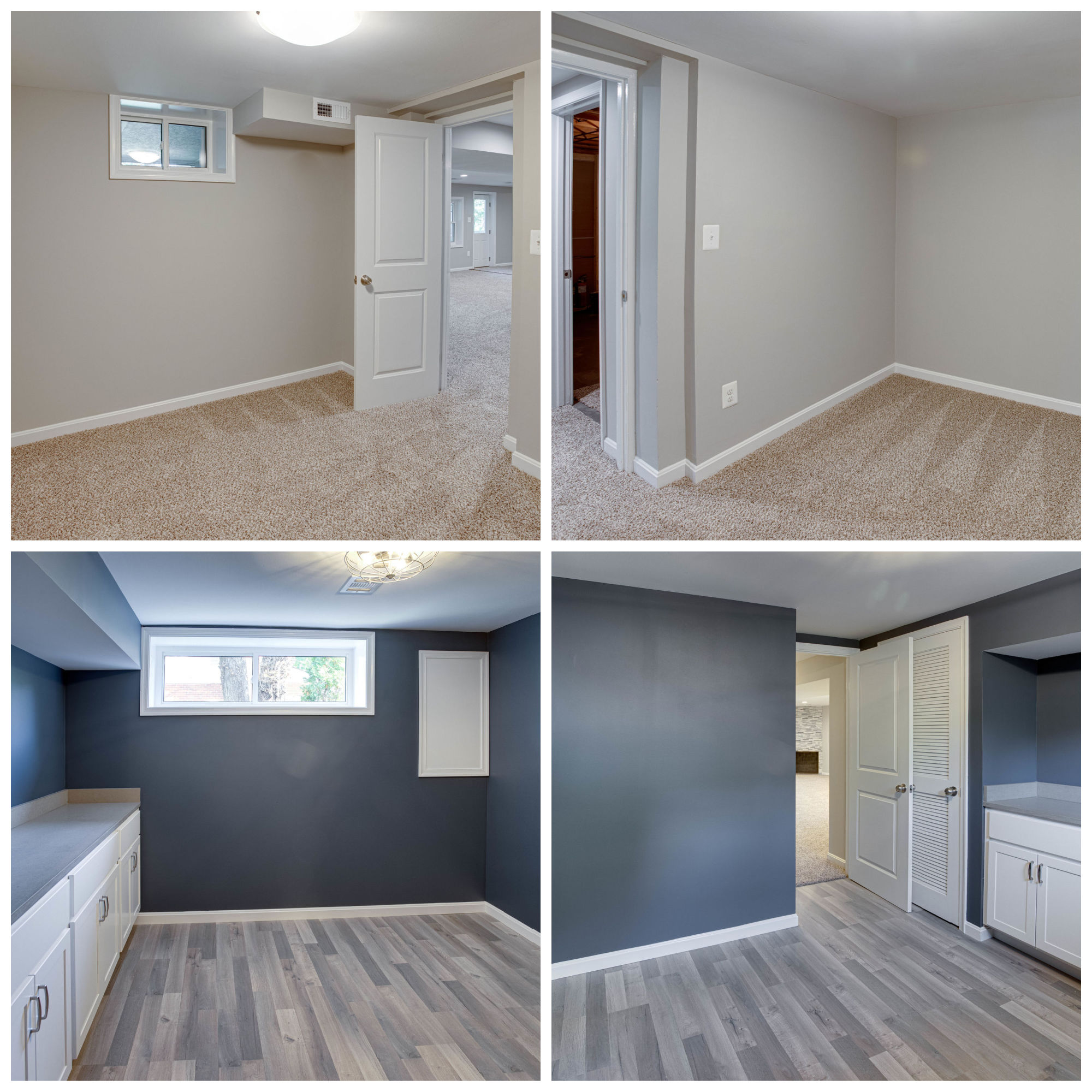 9722 Saint Andrews Dr, Fairfax- Lower Level Laundry and Den