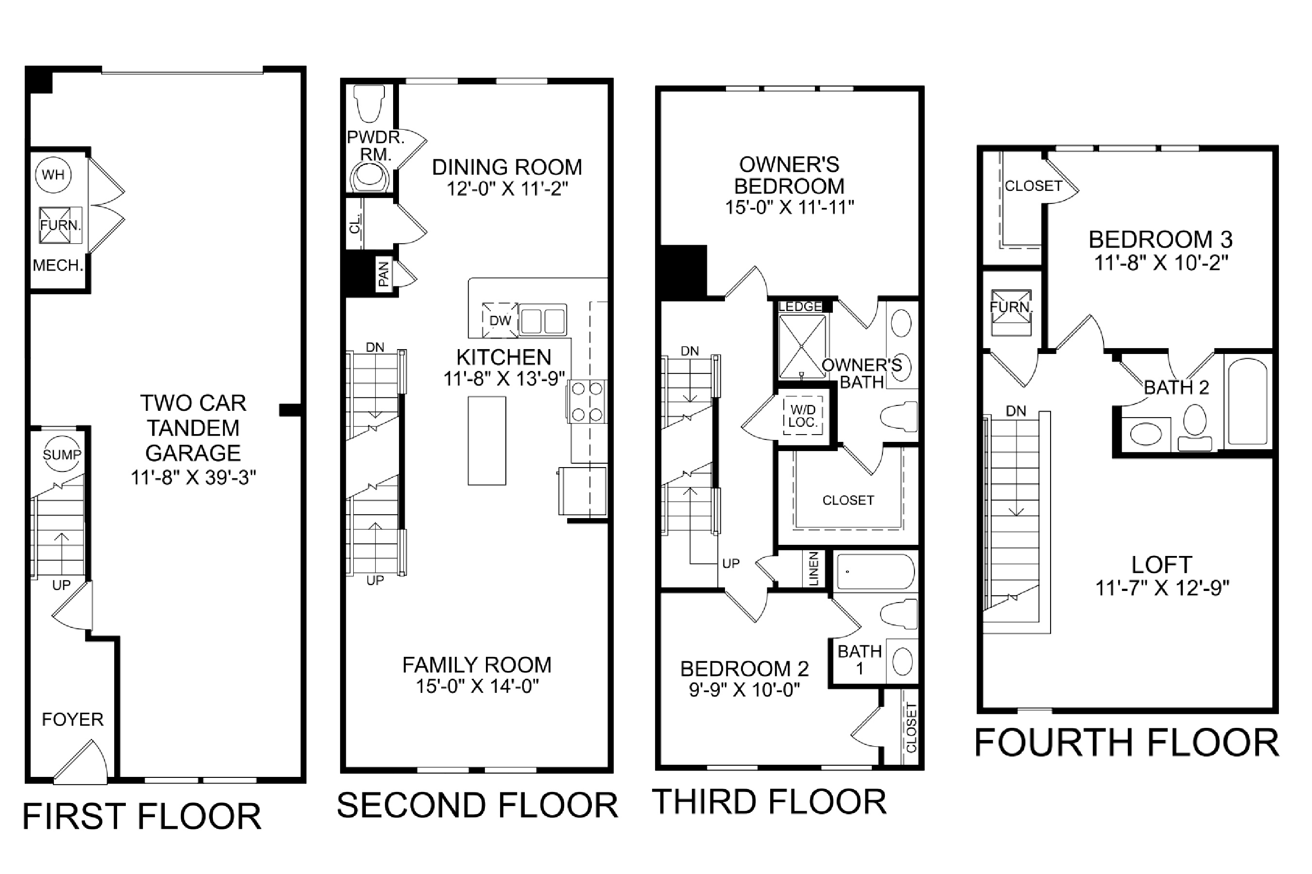 43403 Southland St, Ashburn- Floor Plan