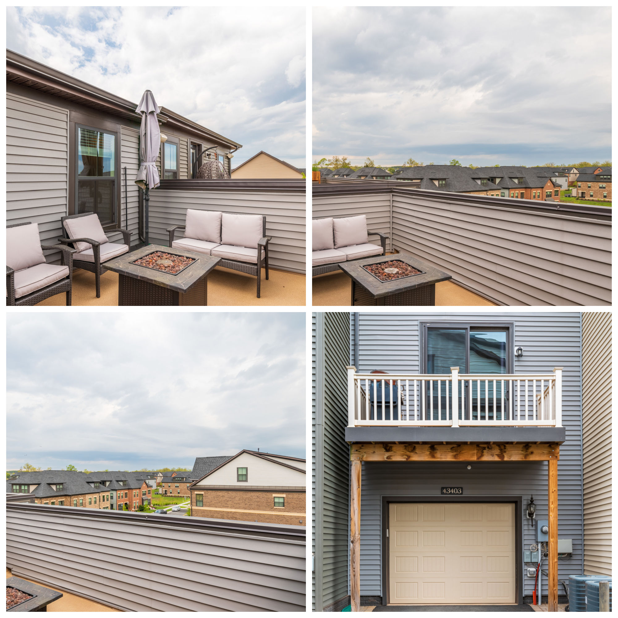 43403 Southland St, Ashburn- Rooftop Patio and Balcony