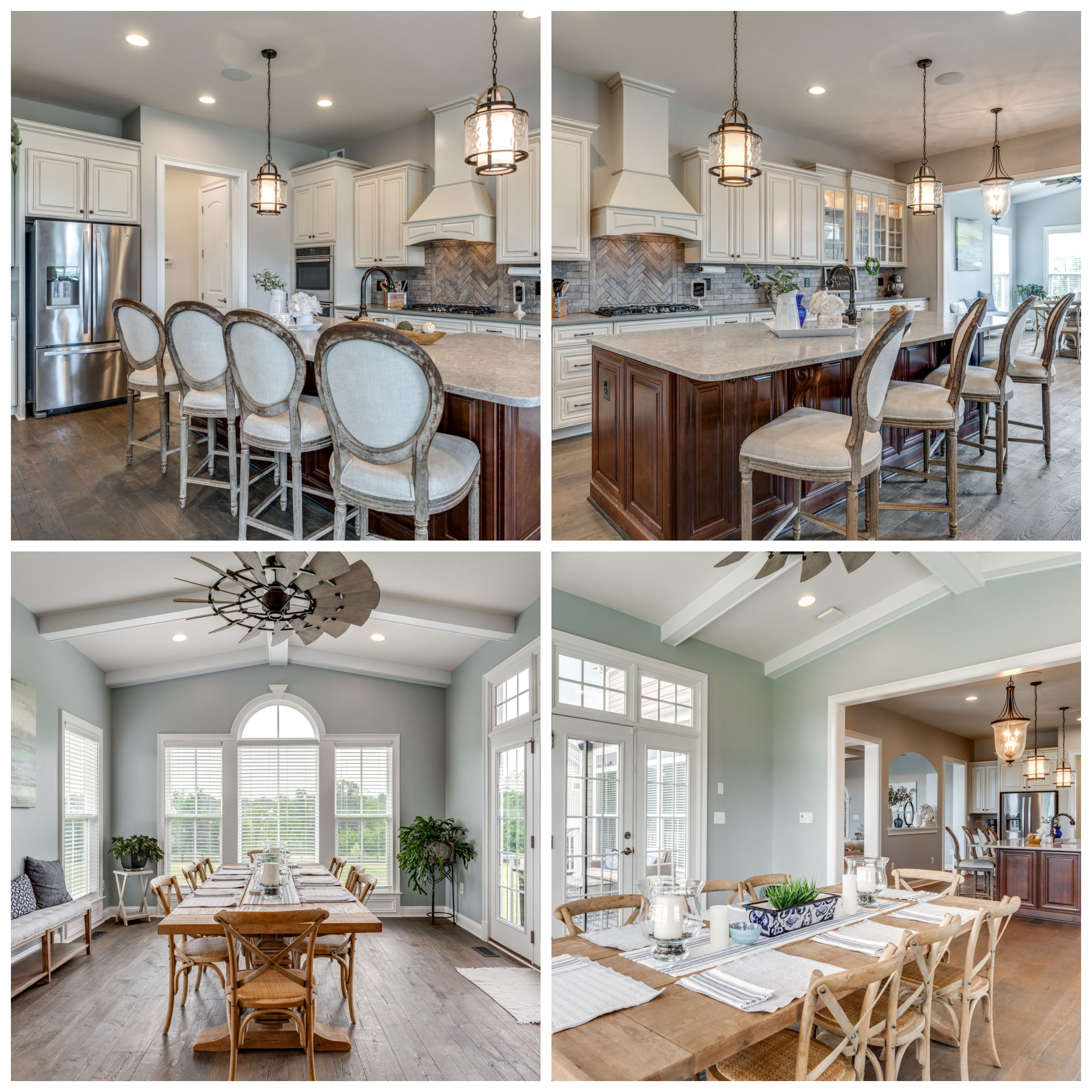 35664 Sweet Branch Ct, Purcellville- Kitchen and Sunroom