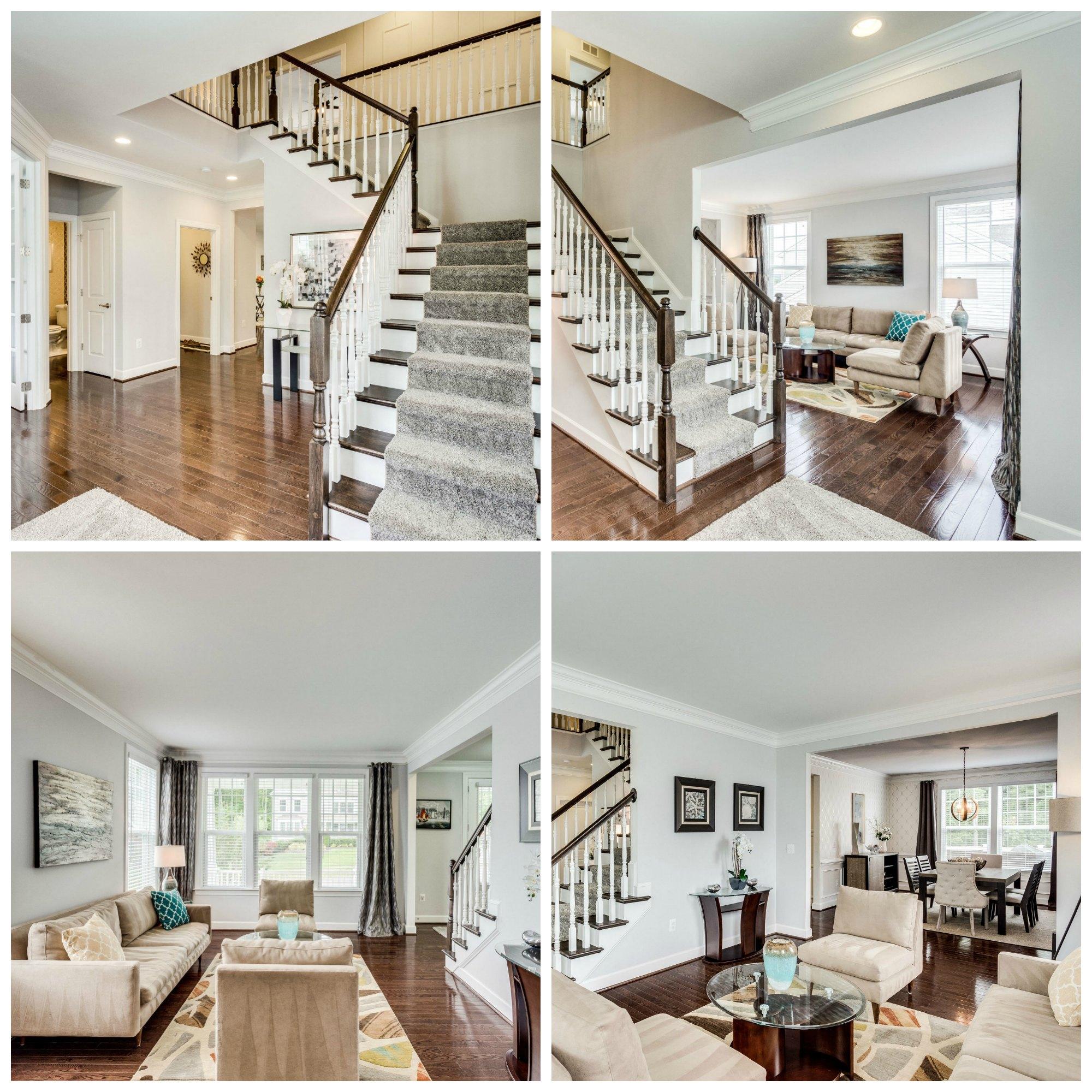 41684 Wakehurst Pl- Leesburg- Selma Estates- Foyer and Living Room