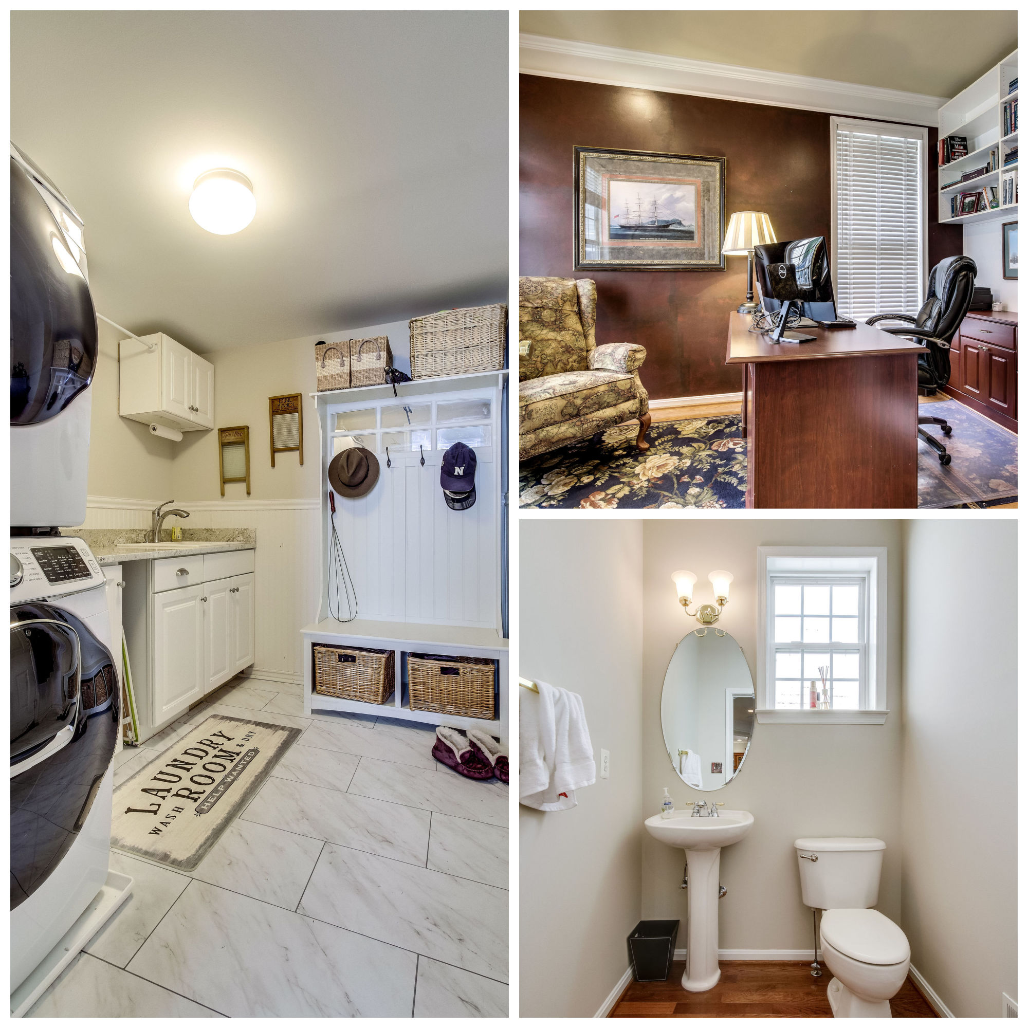 21930 Windover Dr, Broadlands- Office, Laundry, and Powder Room