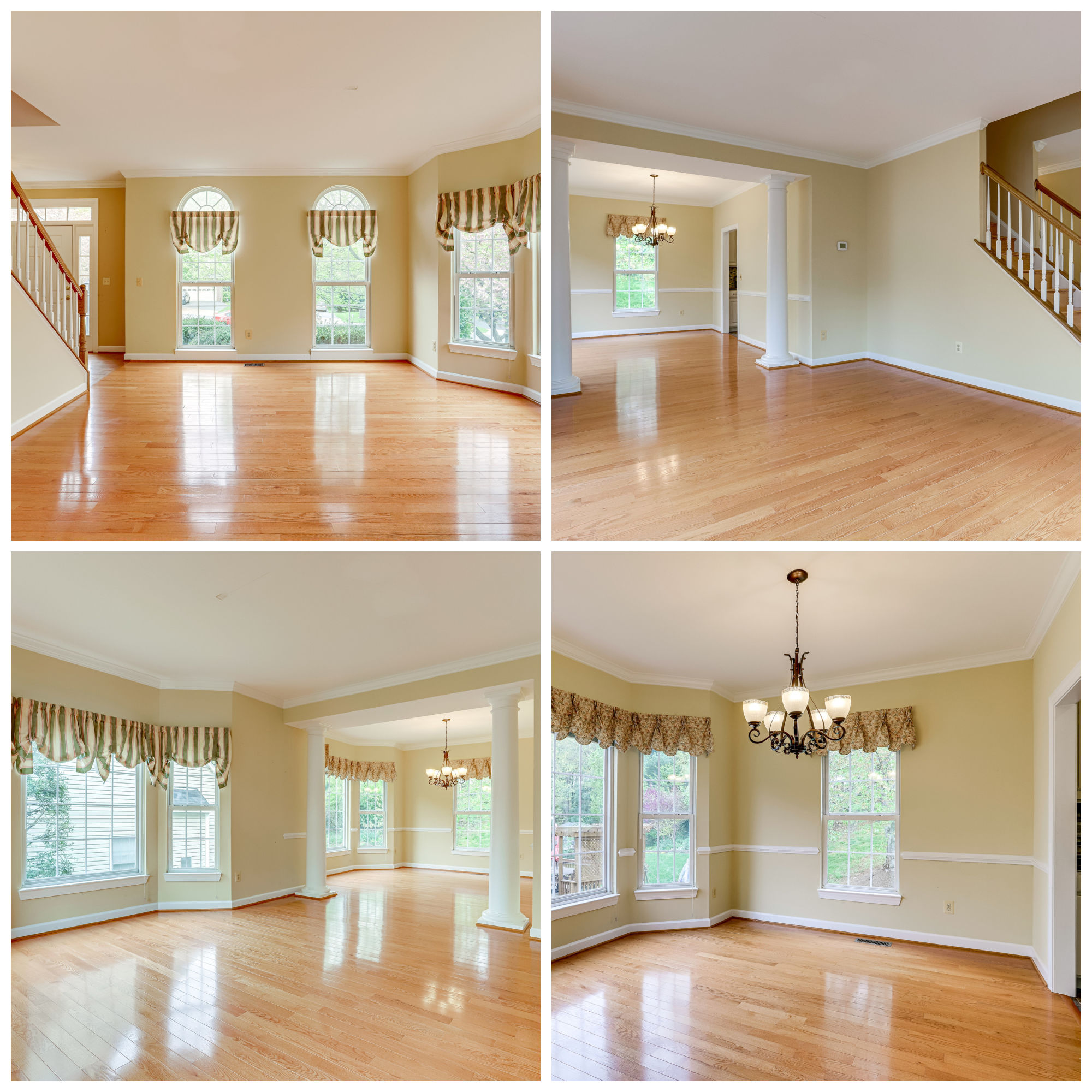 46384 Woodlake Pl, Sterling- Living and Dining Room