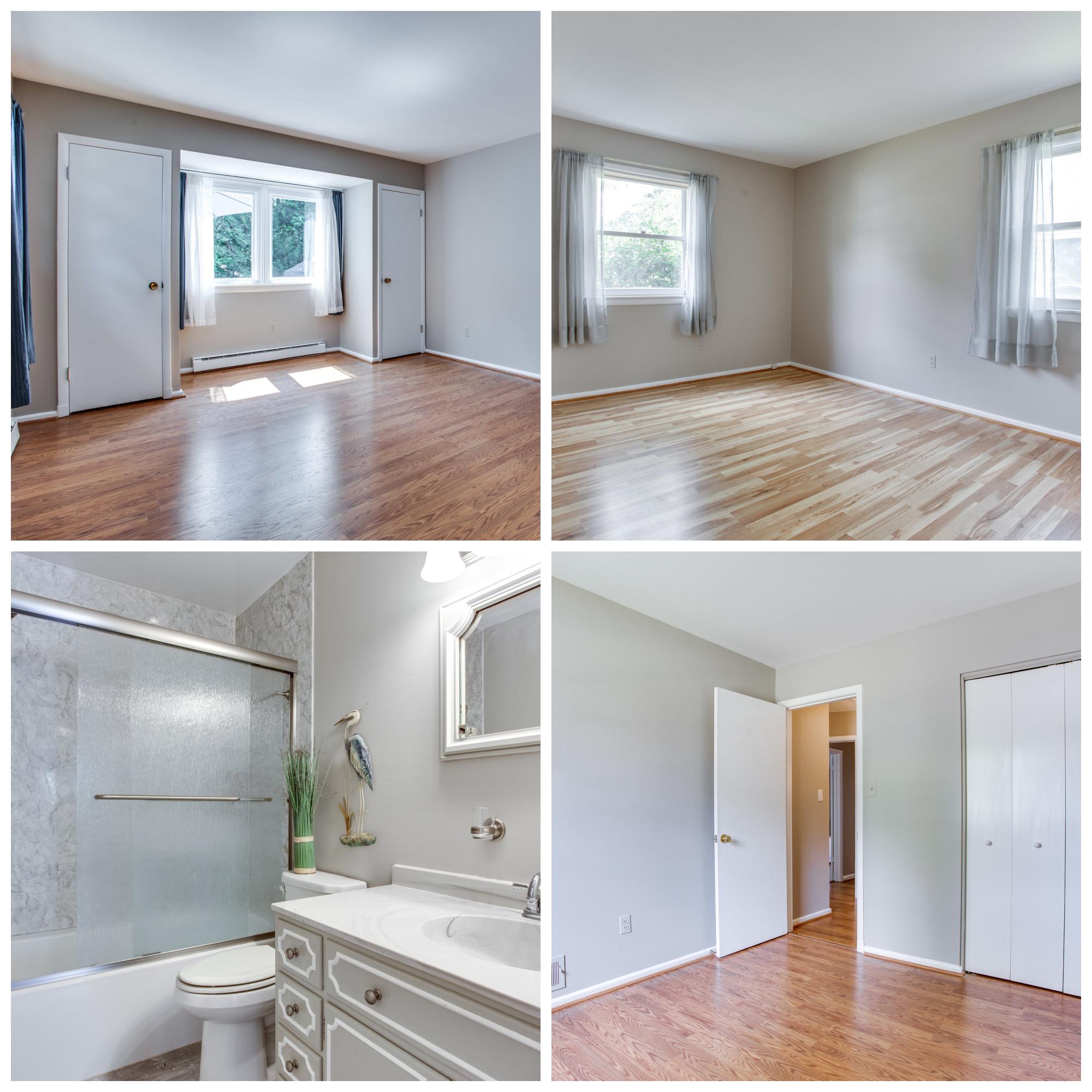 410 Yeonas Dr SW, Vienna- Bedrooms and Bathroom
