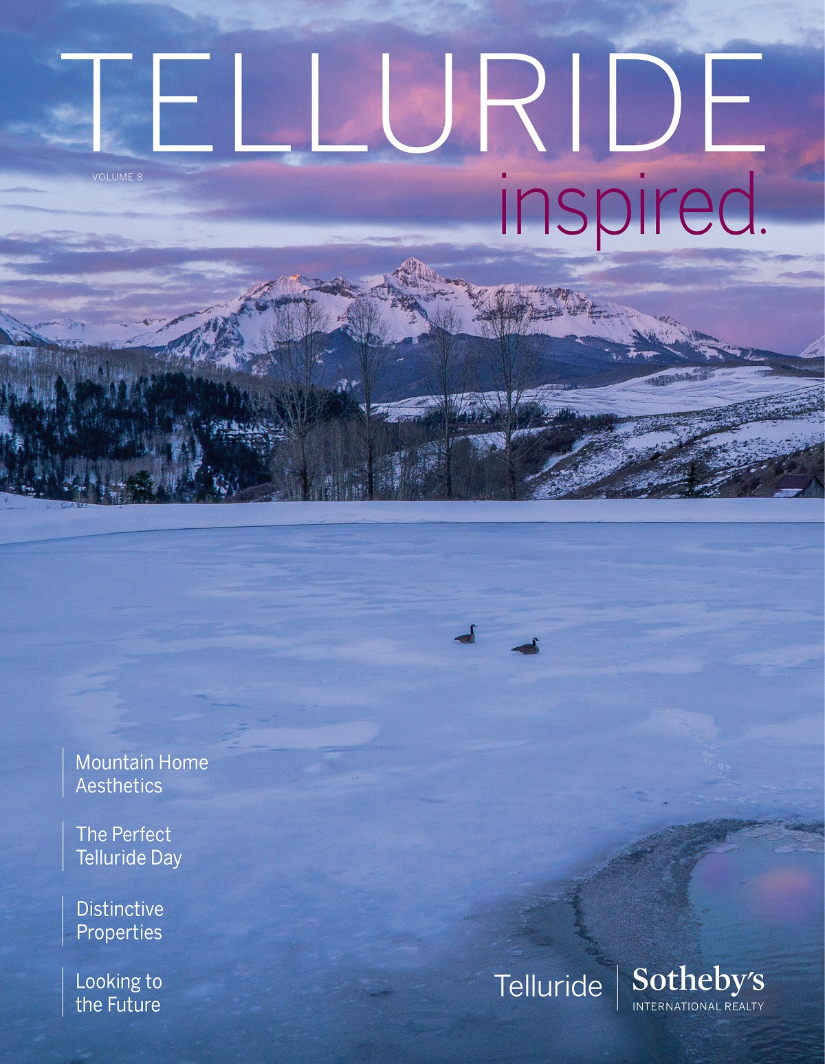 Telluride Property Magazine Volume 8, Winter