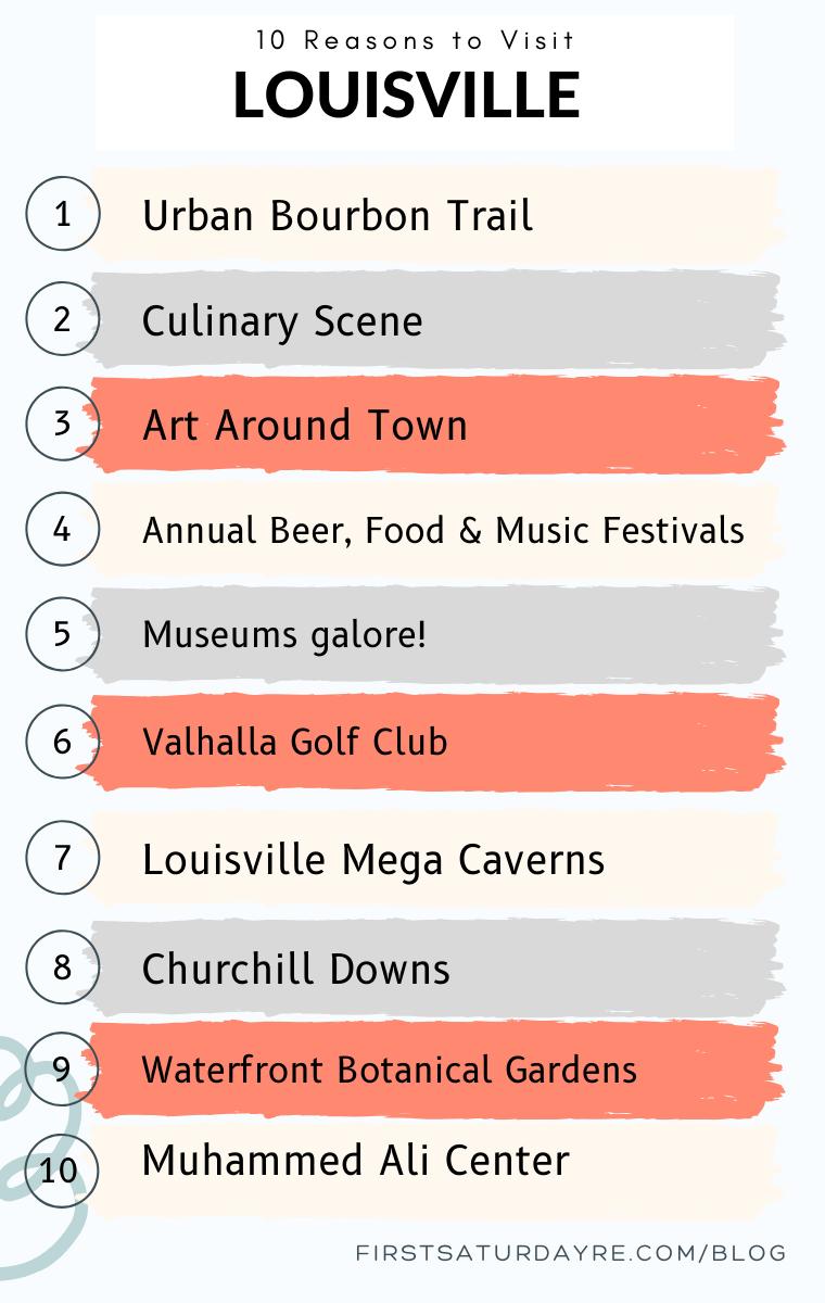 10 Reasons to Visit Louisville