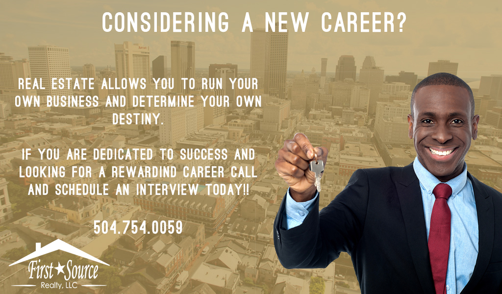 Considering A New Career?