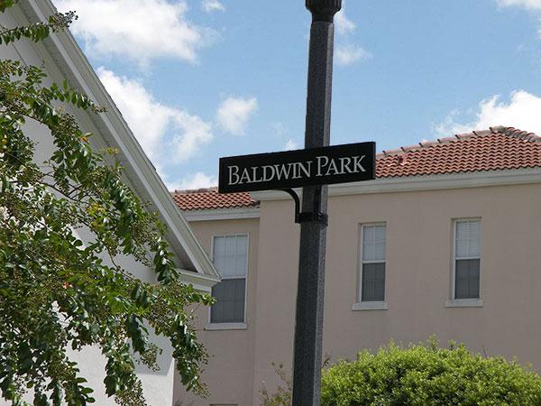 Baldwin Park Pole Sign on West Side