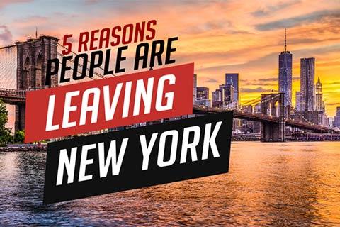 New York Skyline - 5 Reasons People are Leaving New York