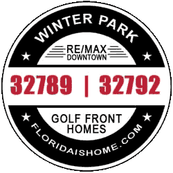Winter Park golf front homes for sale logo