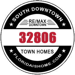 Townhomes for sale in South downtown Orlando logo