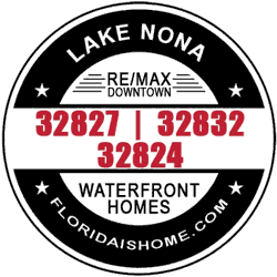 Lake Nona waterfront homes for sale logo