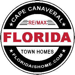 LOGO: Cape Canaveral townhomes for sale