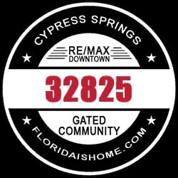 LOGO: Cypress Springs Gated Community