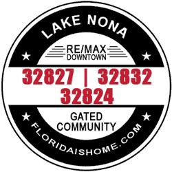 LOGO: Lake Nona gated community homes