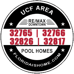 LOGO: UCF Area Pool Homes For Sale