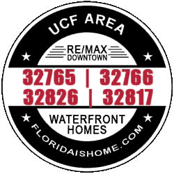 LOGO: UCF Area Waterfront Homes For Sale