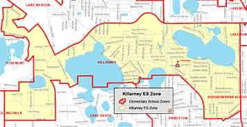 OCPS Killarney Elementary Map
