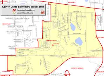 OCPS Lawton Chiles Elementary Map