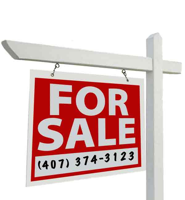 Downtown Orlando homes for sale sign
