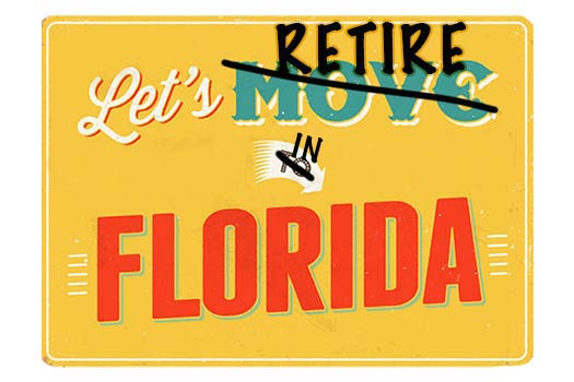 Retire in Florida Webpage header image