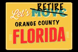 Orange County Retirement Homes For Sale webpage header