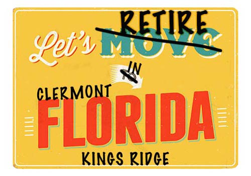 Clermont Kings Ridge Homes For Sale webpage header